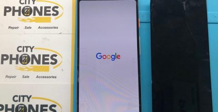broken pixel 3 screen repair