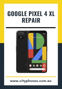 google pixel 4 xl screen repair