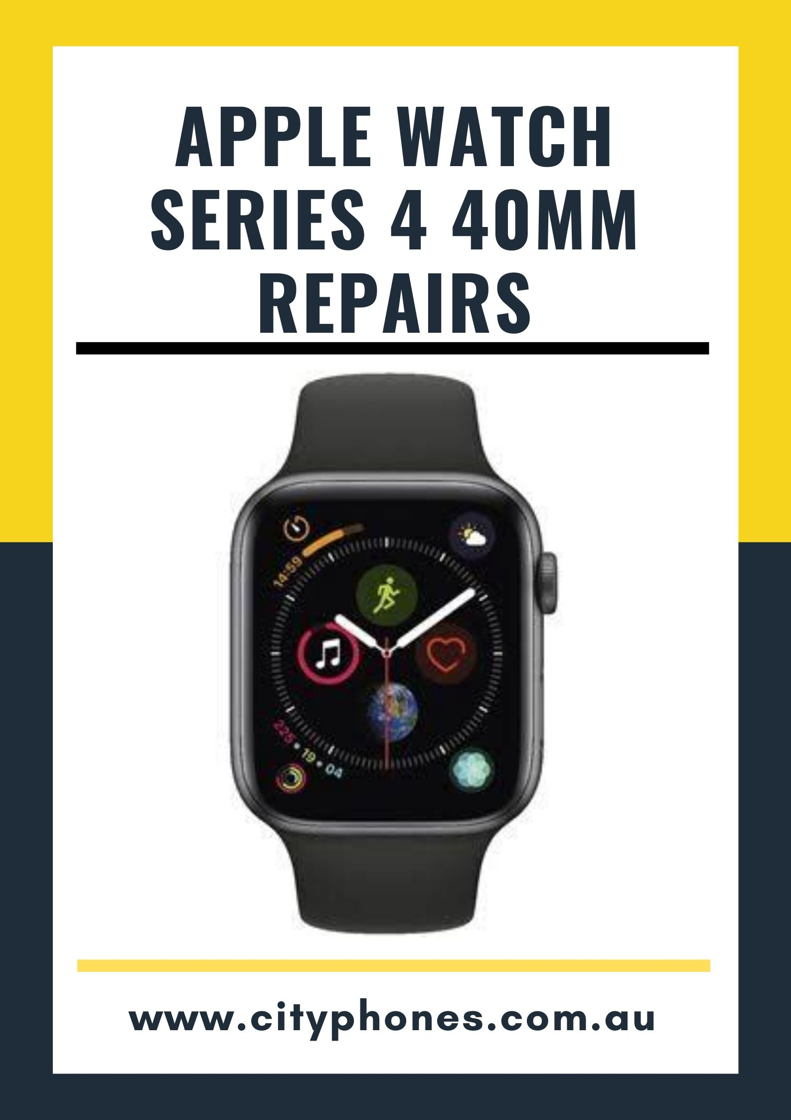 apple watch series 4 screen repair
