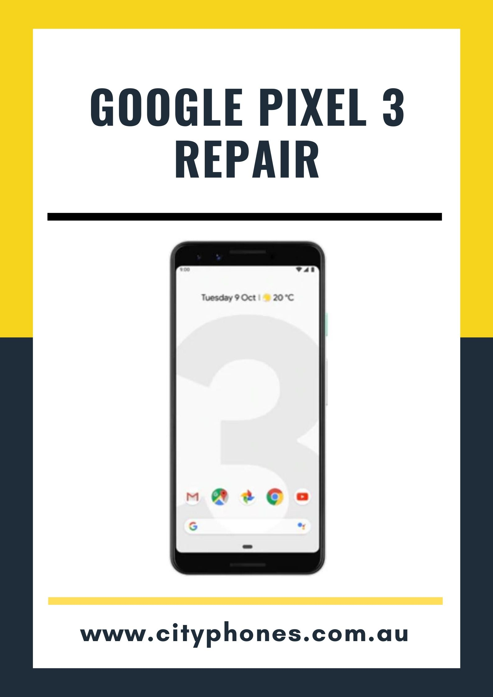 google pixel 3 screen in Melbourne