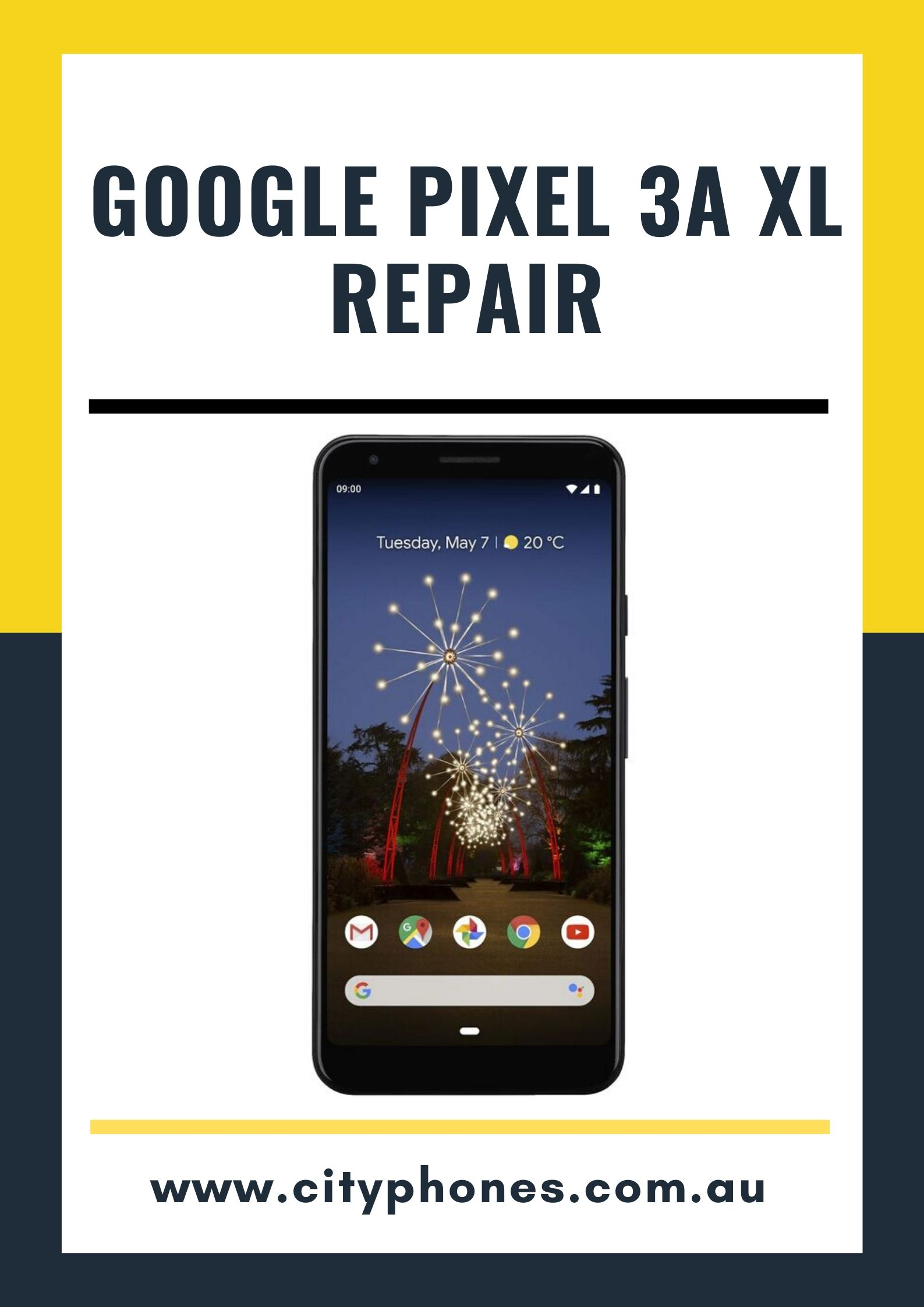 google pixel 3a xl screen repair
