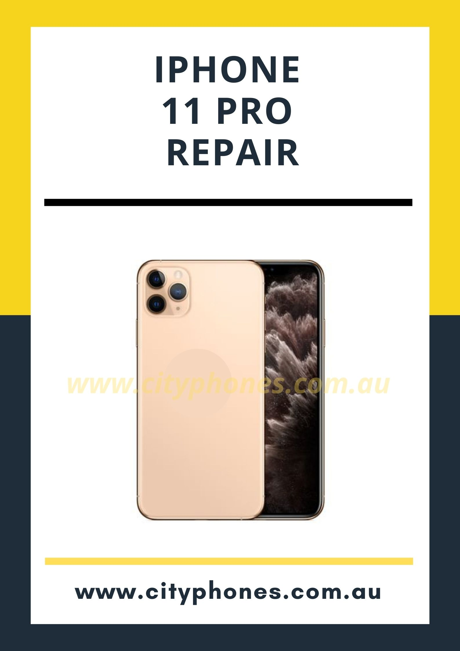 iphone 11 pro screen repair