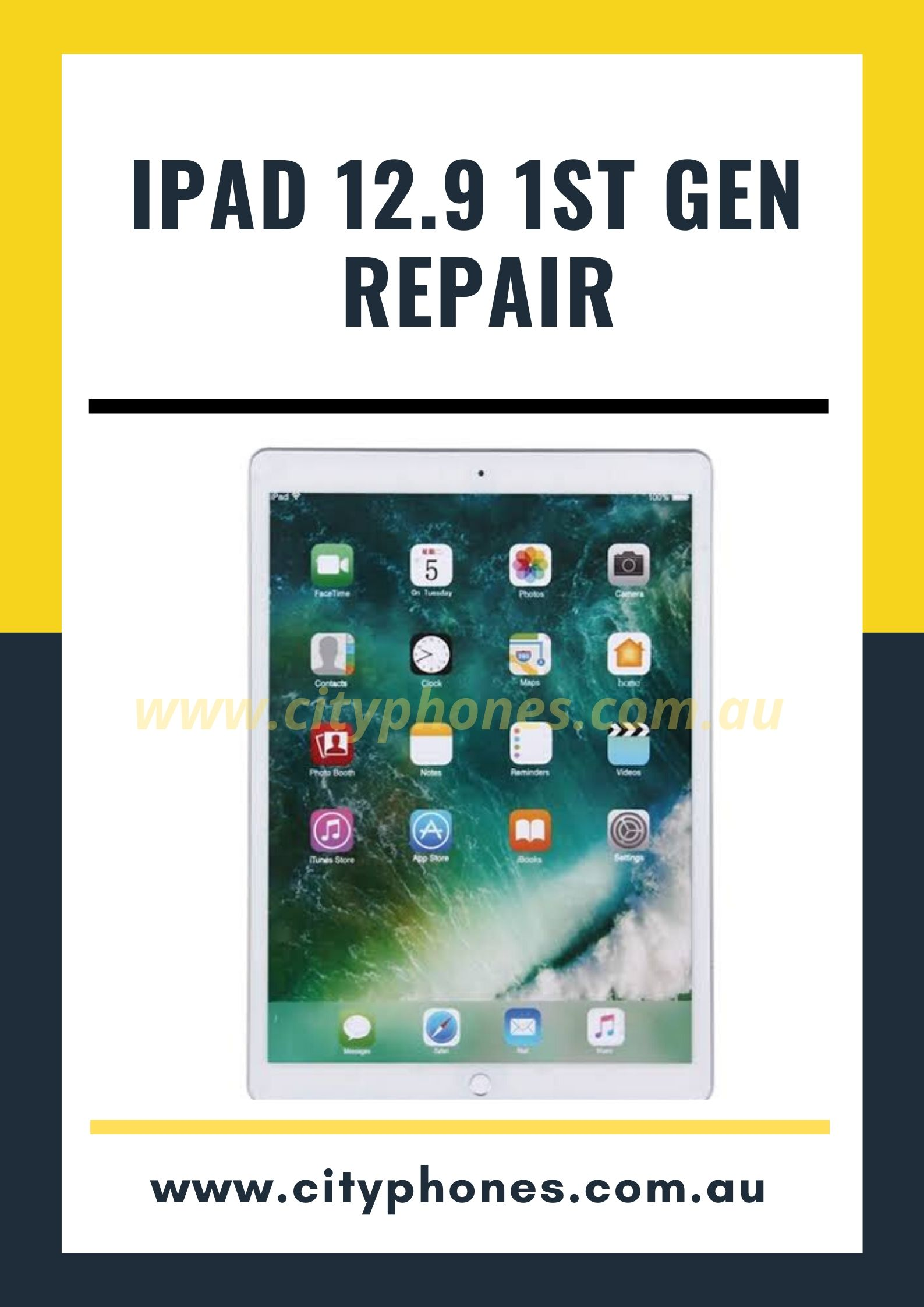 iPad 12.9 1st gen screen repair