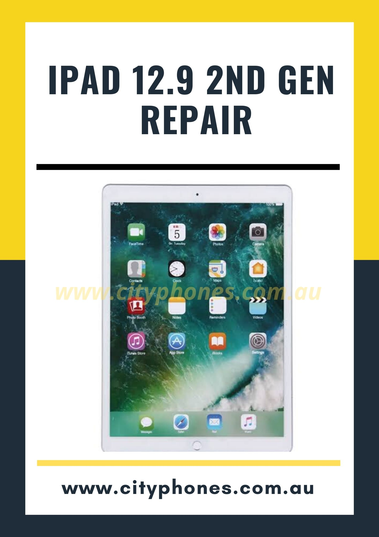 iPad 12.9 2nd gen screen repair