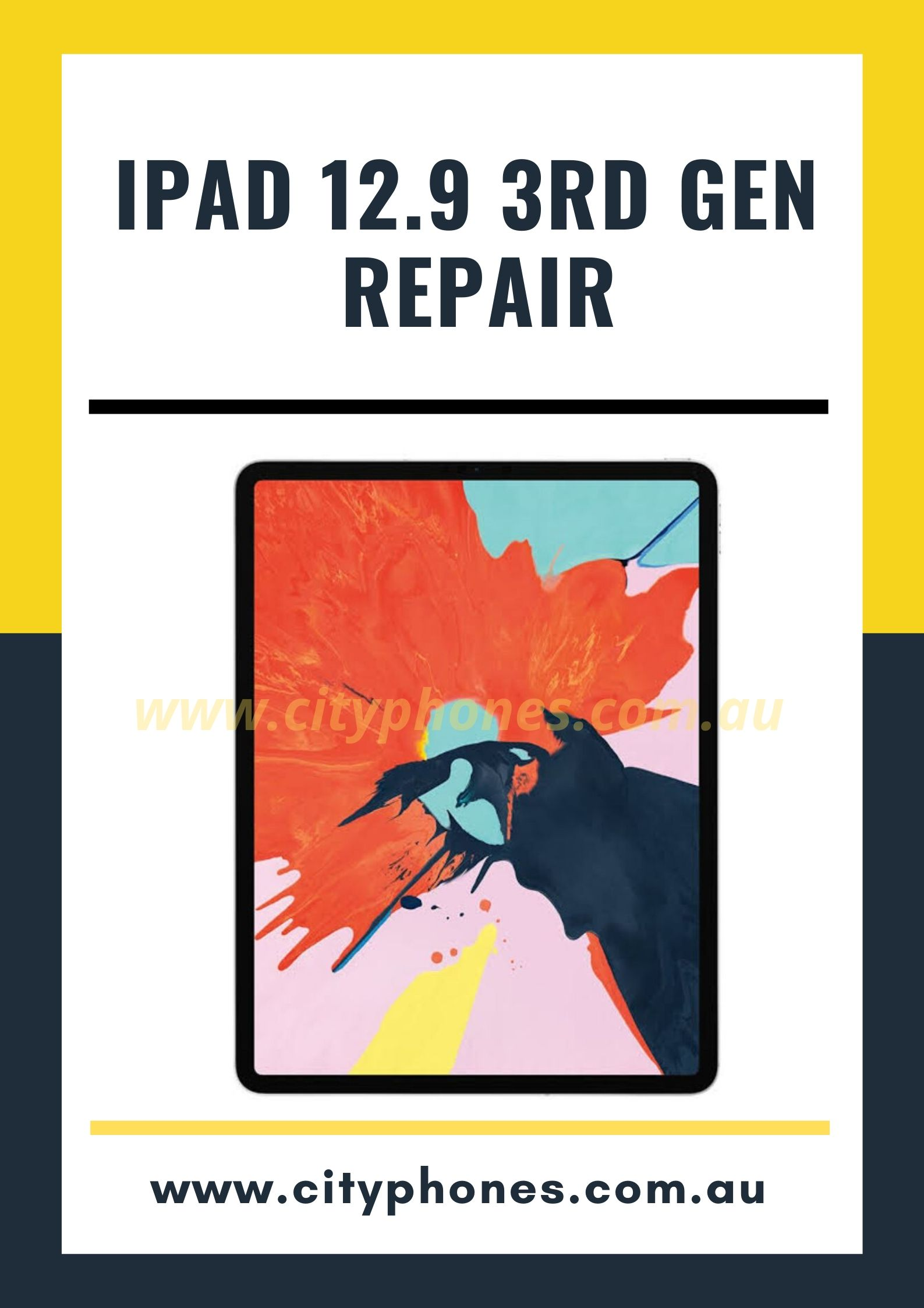 ipad 12.9 3rd generation screen repair
