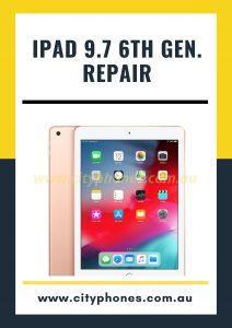 ipad 9.7 6th generation screen repair