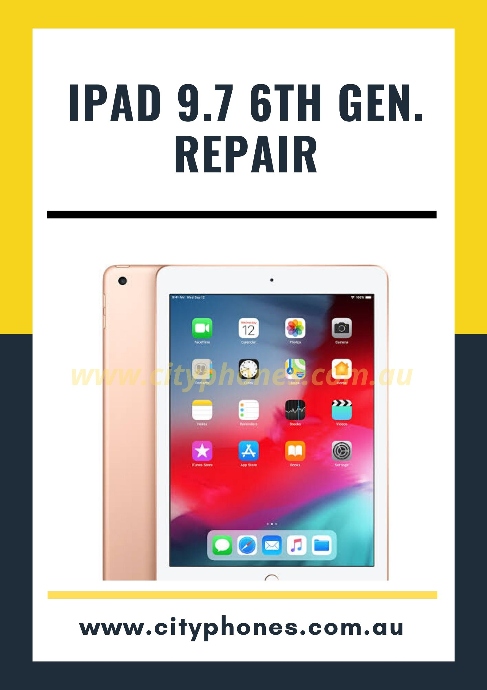 ipad 9.7 6th generation screen repair