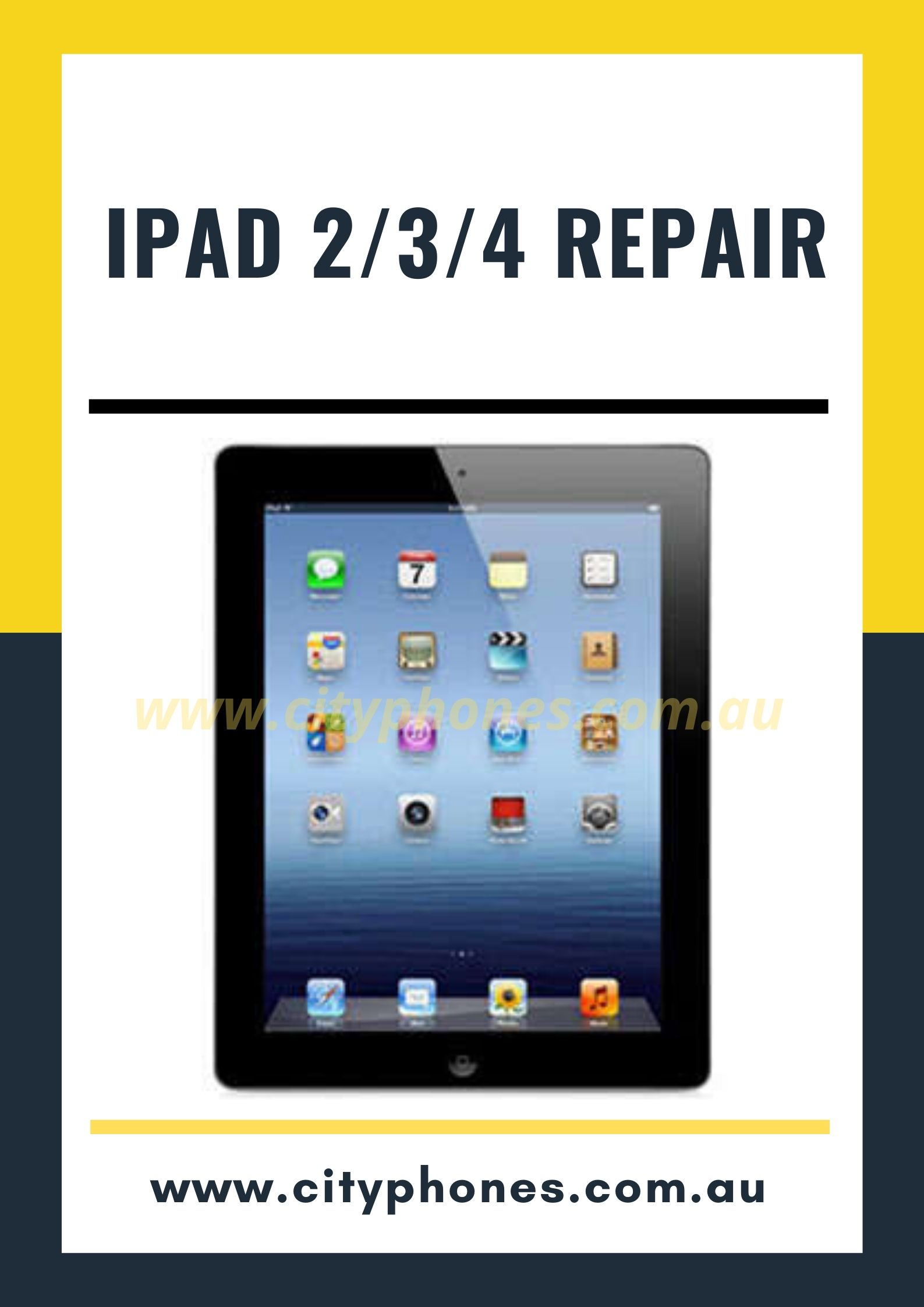 iPad screen repair in melbourne