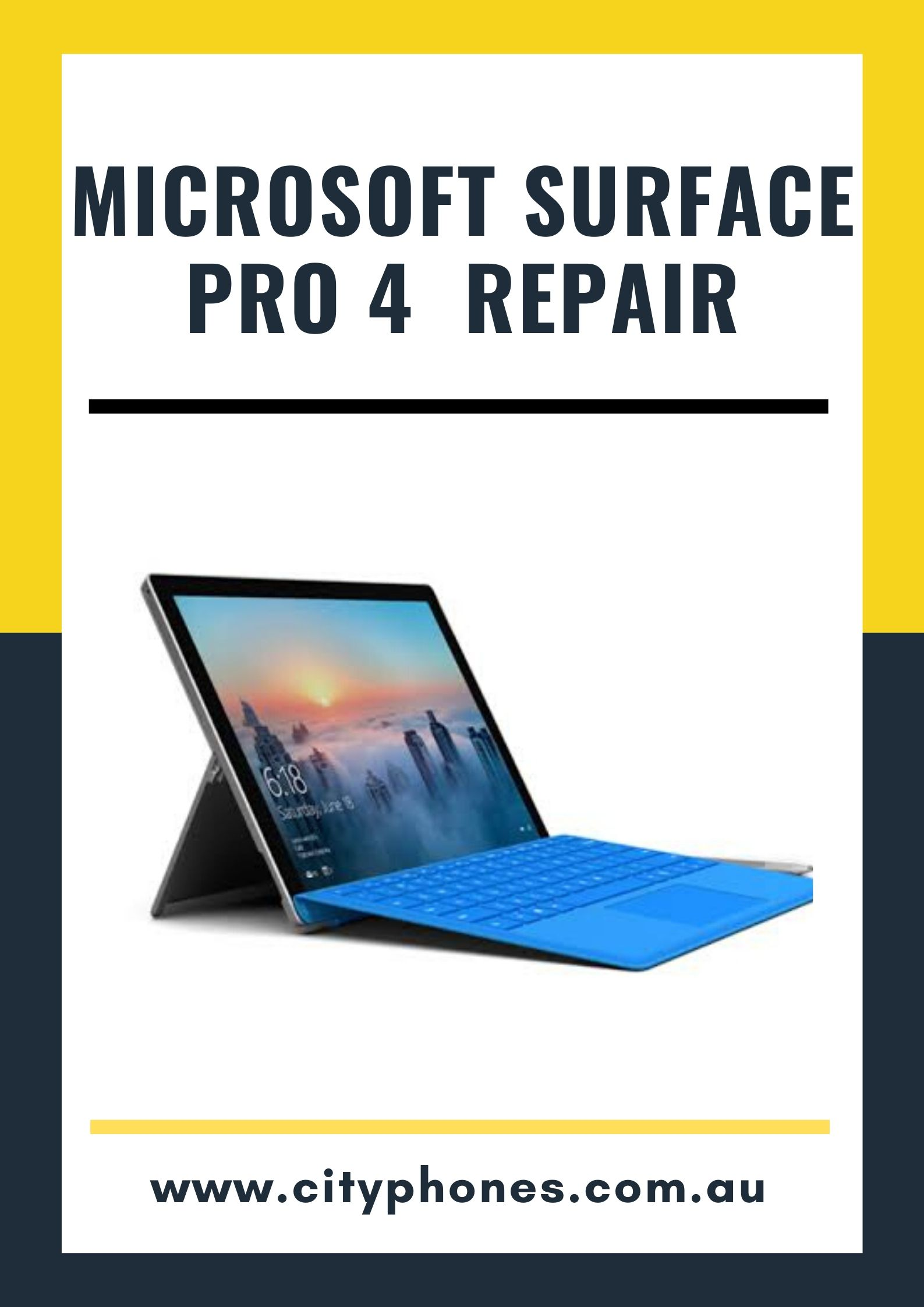 microsoft surface pro 4 screen repair in melbourne