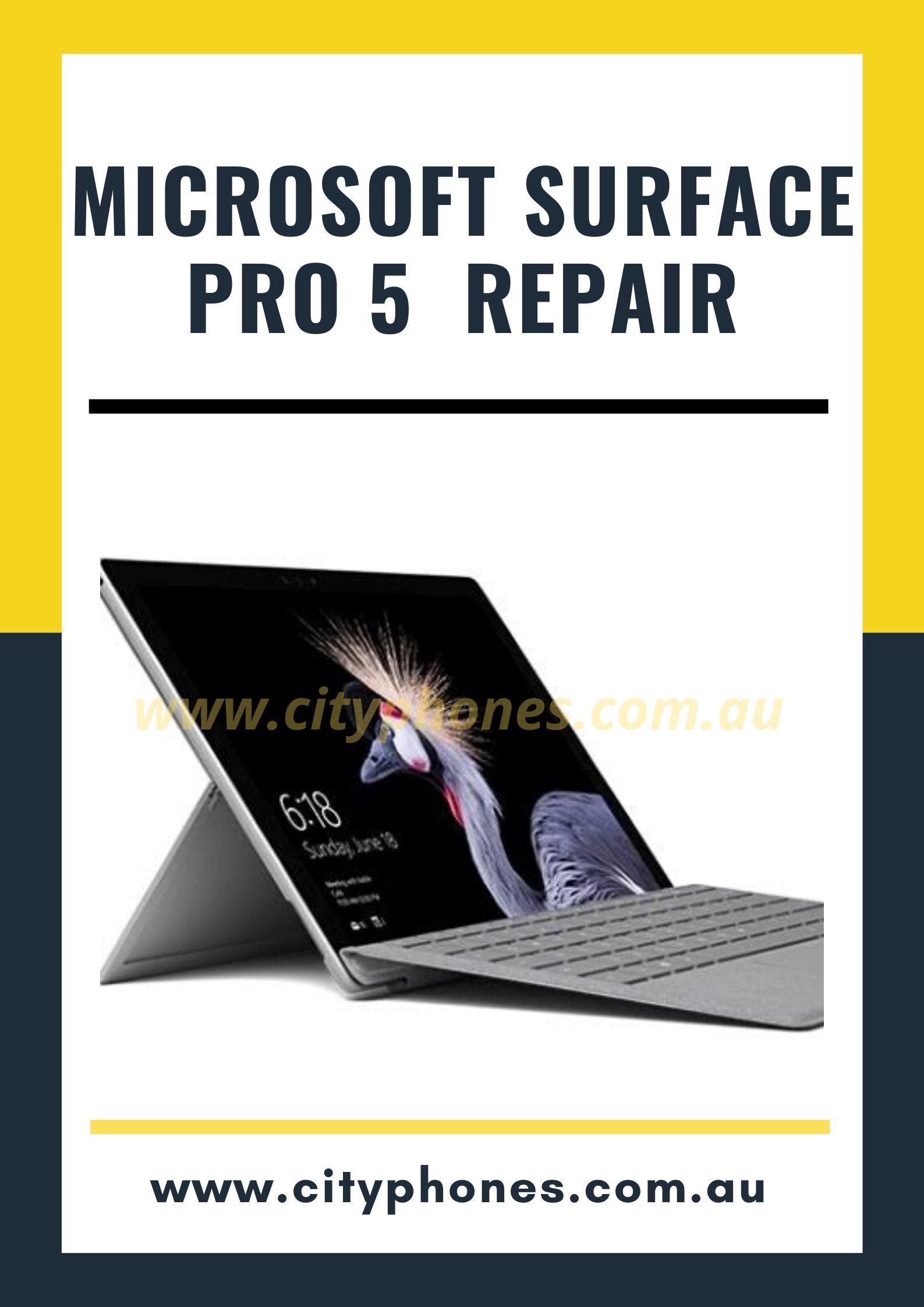 microsoft surface pro 5 screen repair in melbourne
