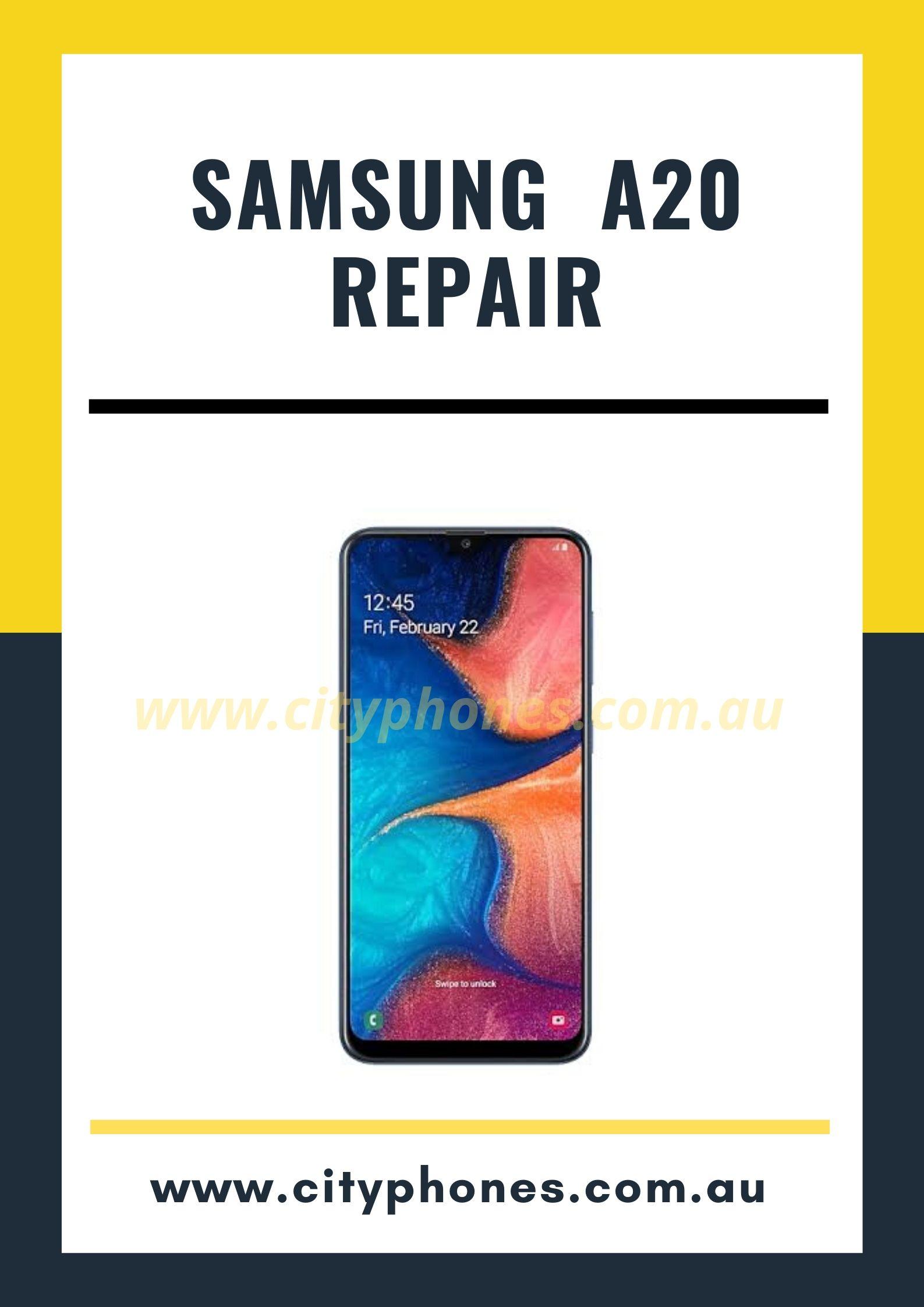 samsung a20 screen repair in melbourne
