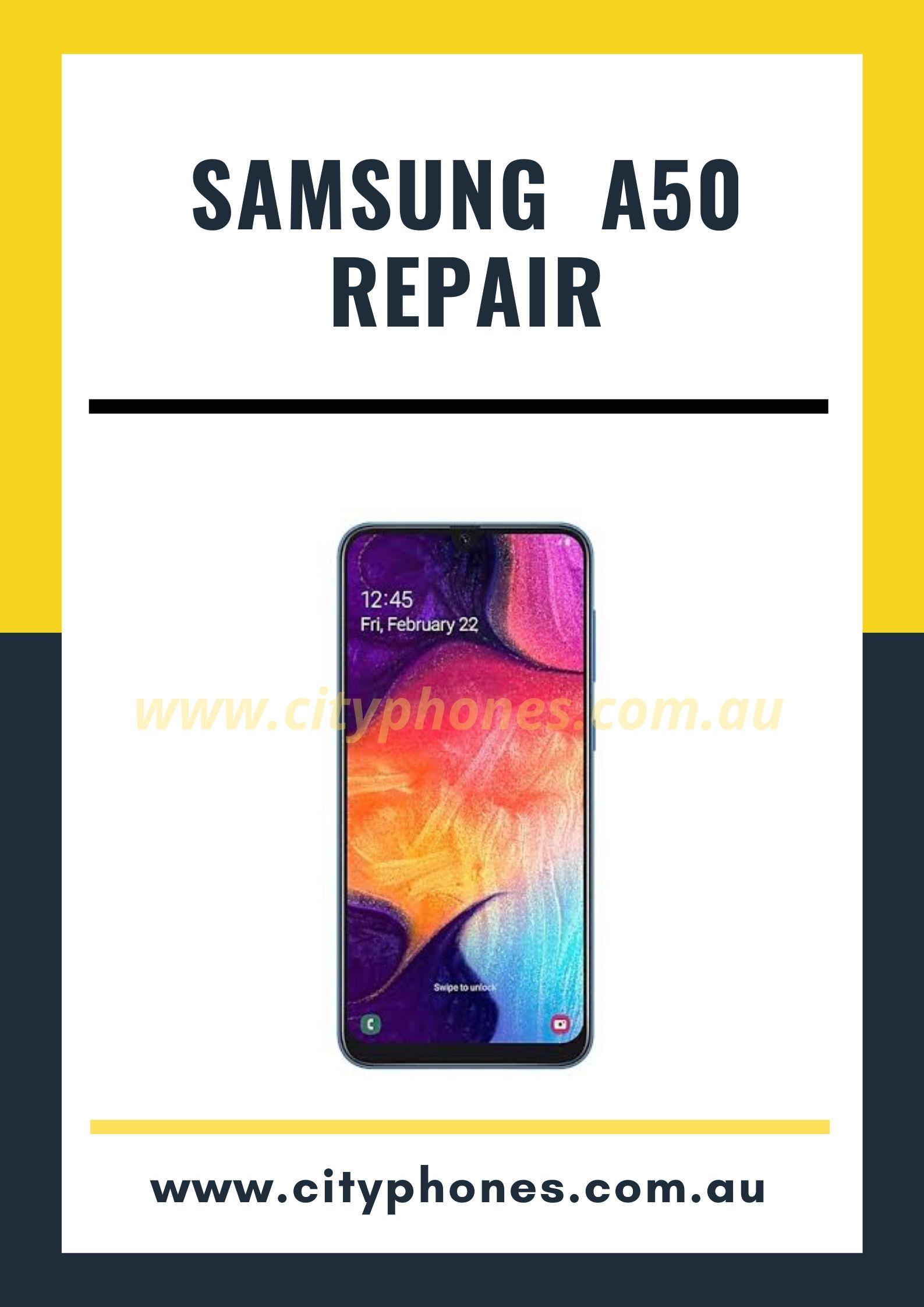 samsung a50 screen repair