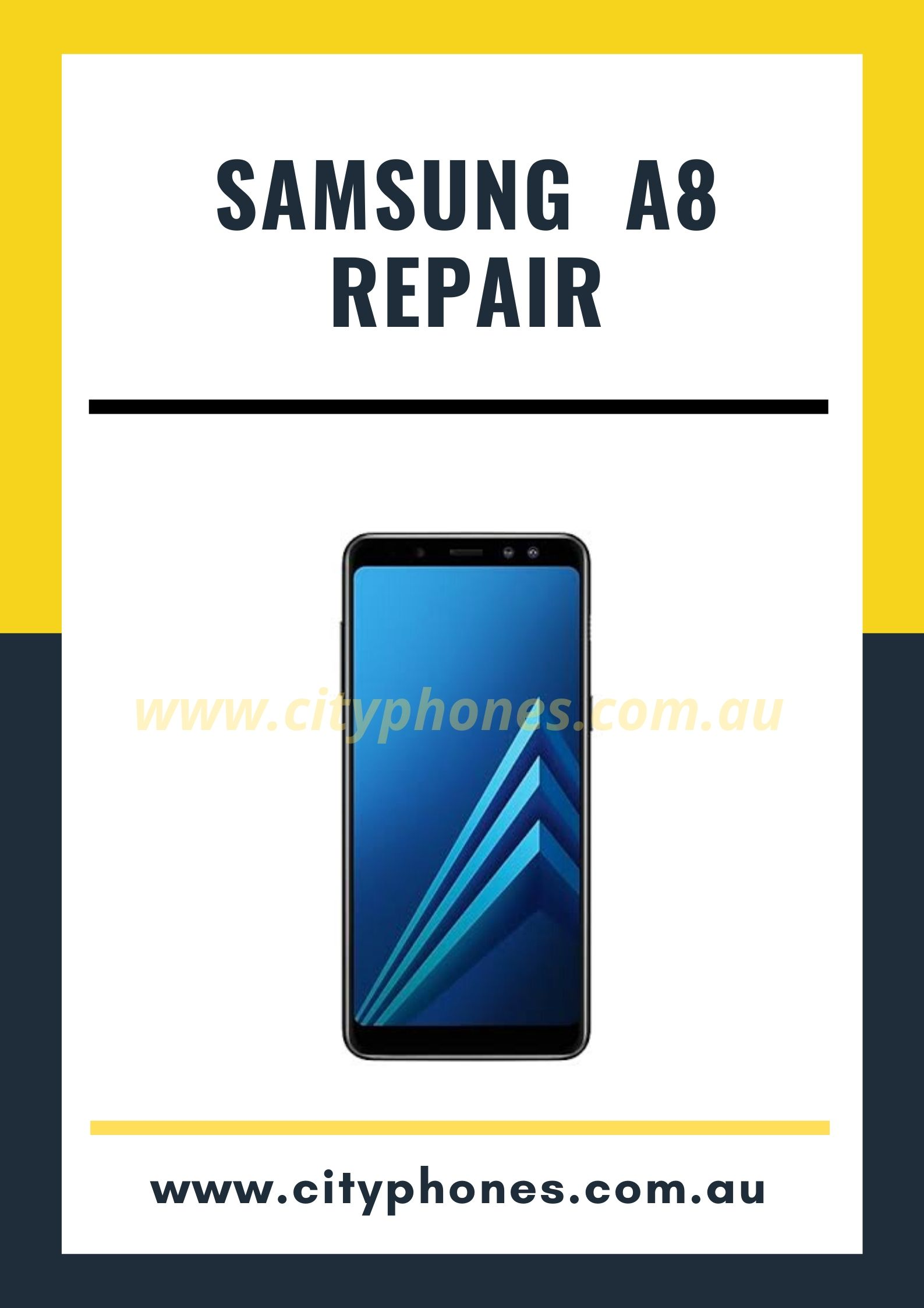 samsung a8 screen repair