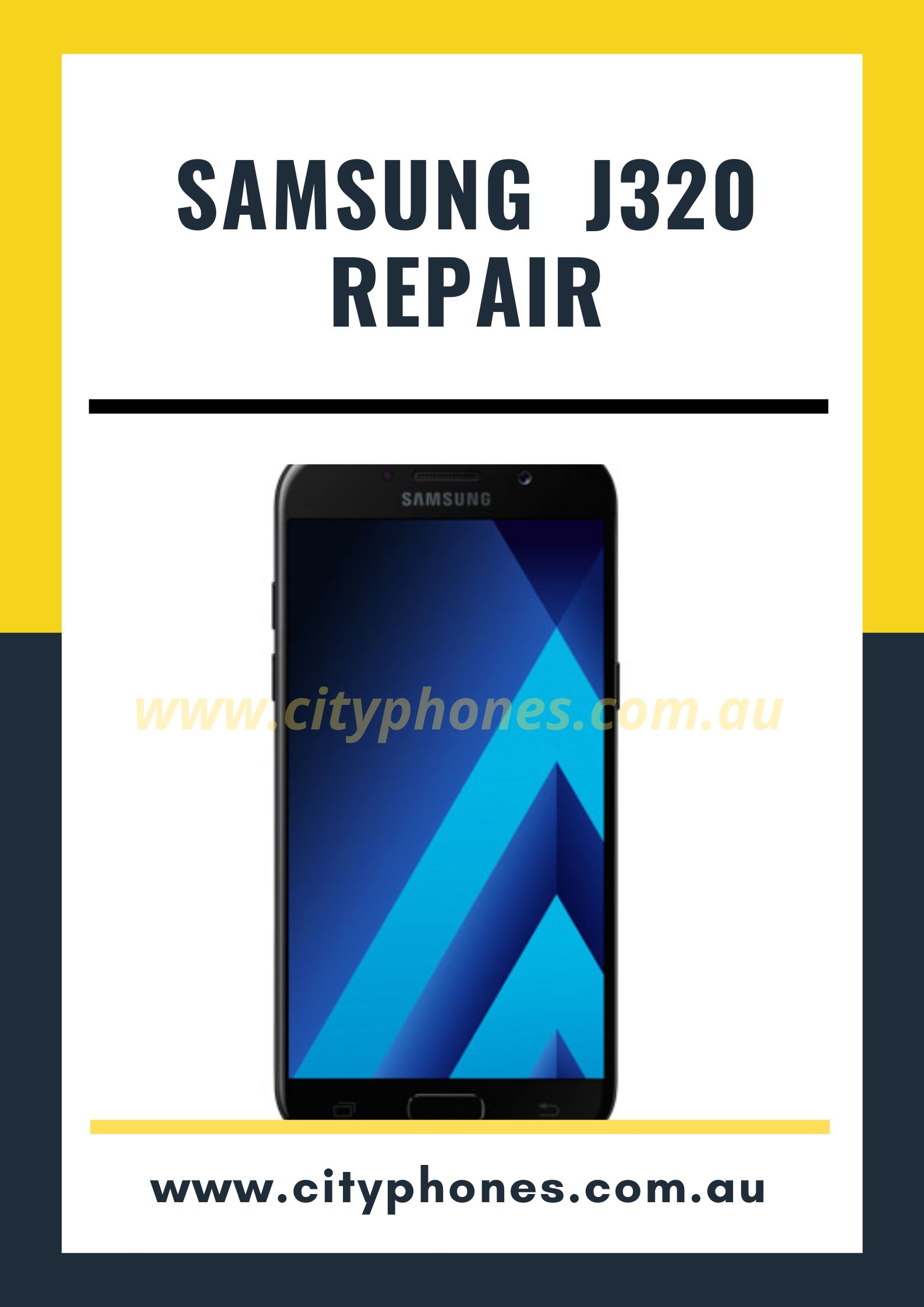 samsung j320 screen repair