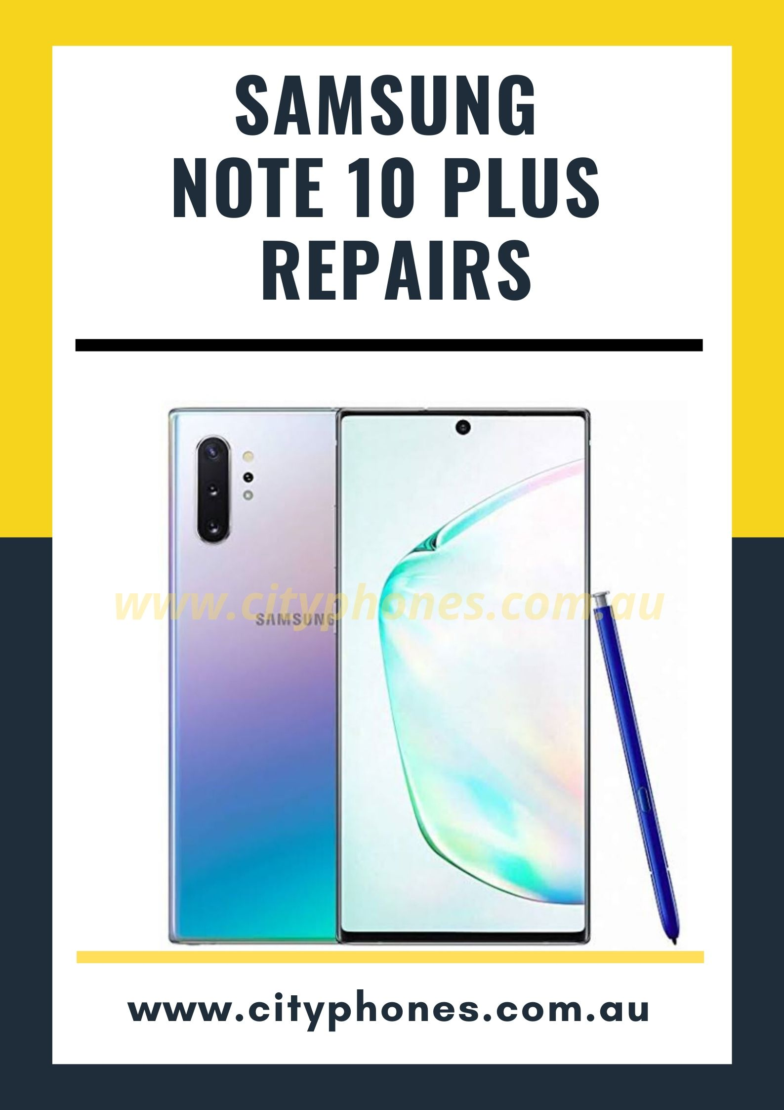 samsung not 10 plus screen repair