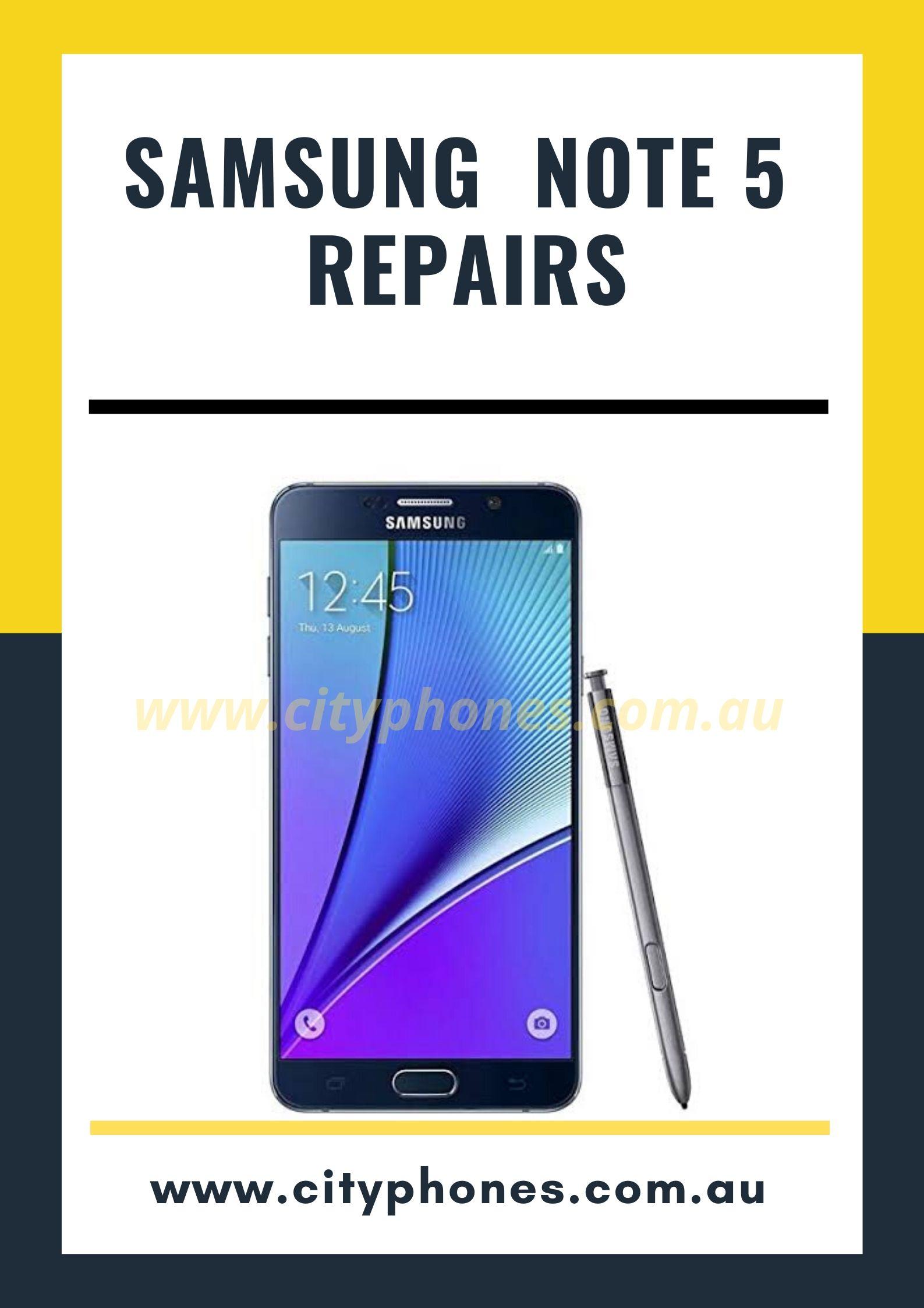 note 5 screen repair