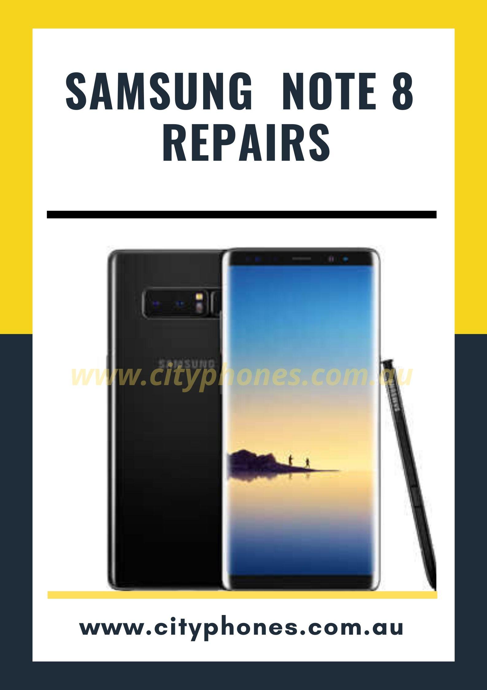 note 8 screen repair