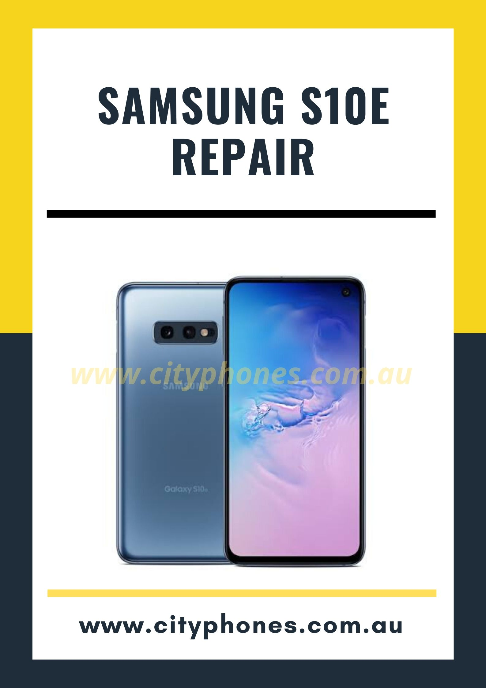 samsung s10e screen repair