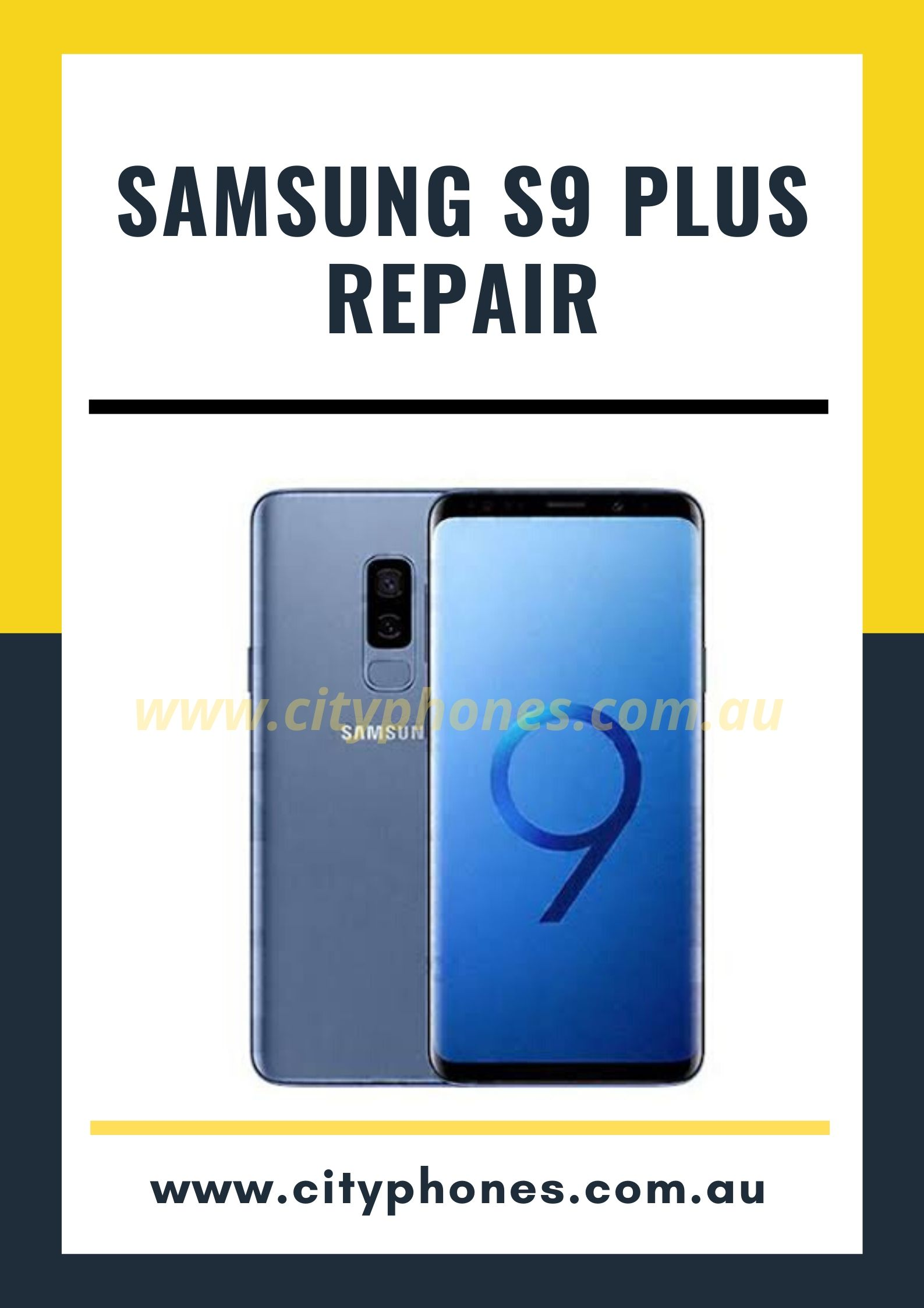 Samsung s9 plus screen repair