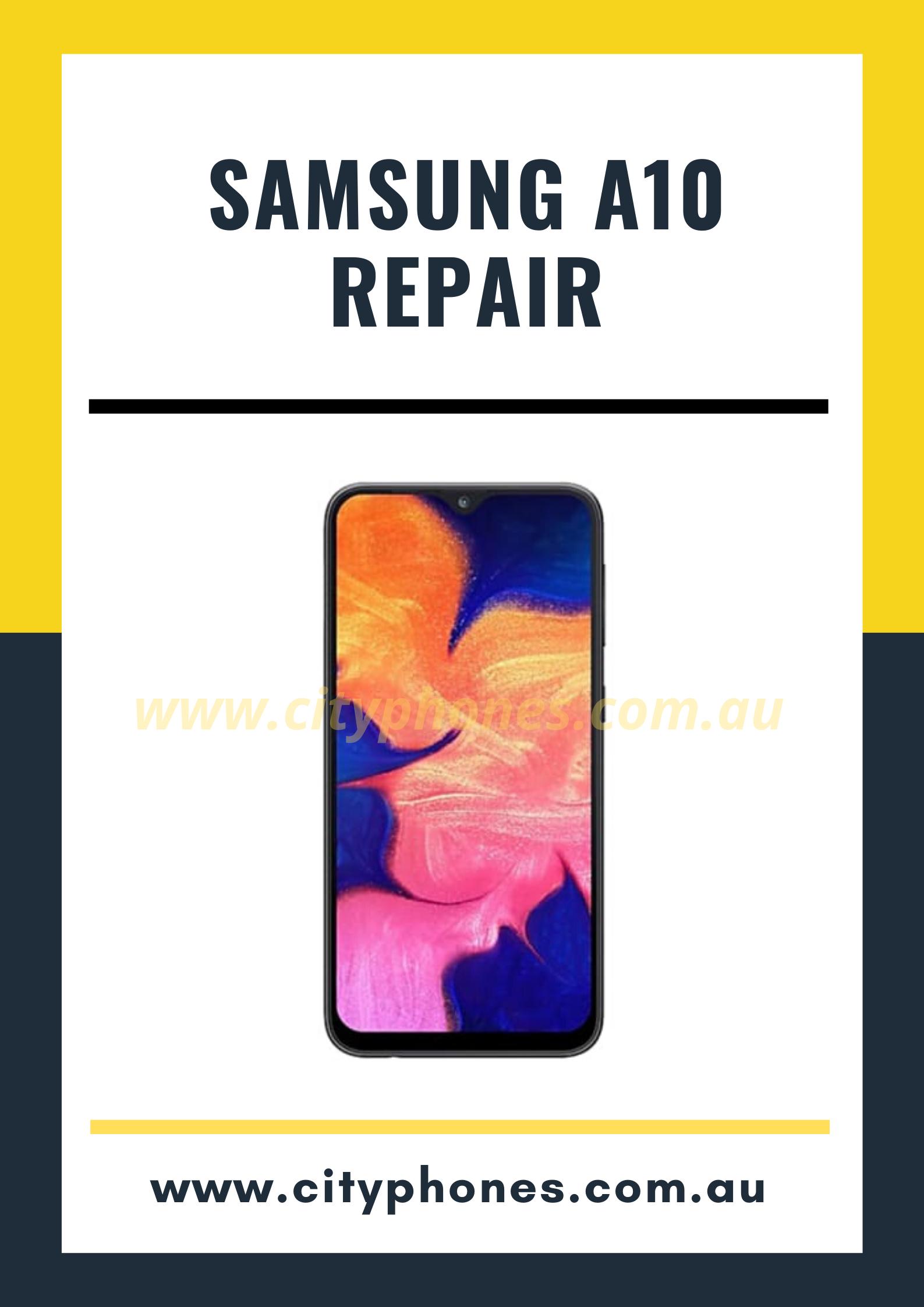 Samsung a10 screen repair