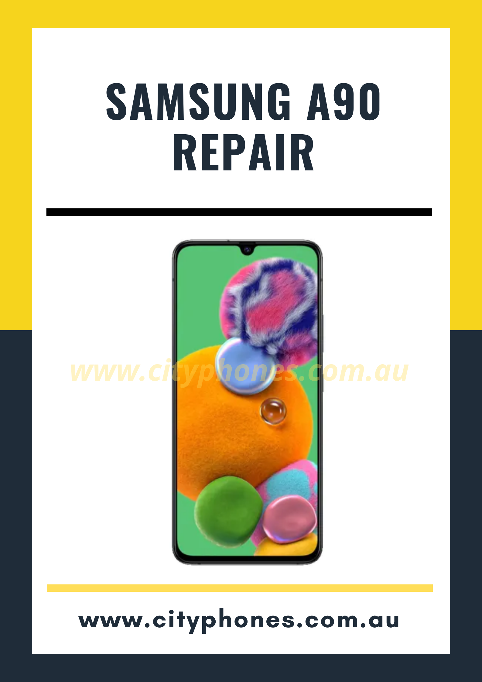 Samsung a90 screen repair