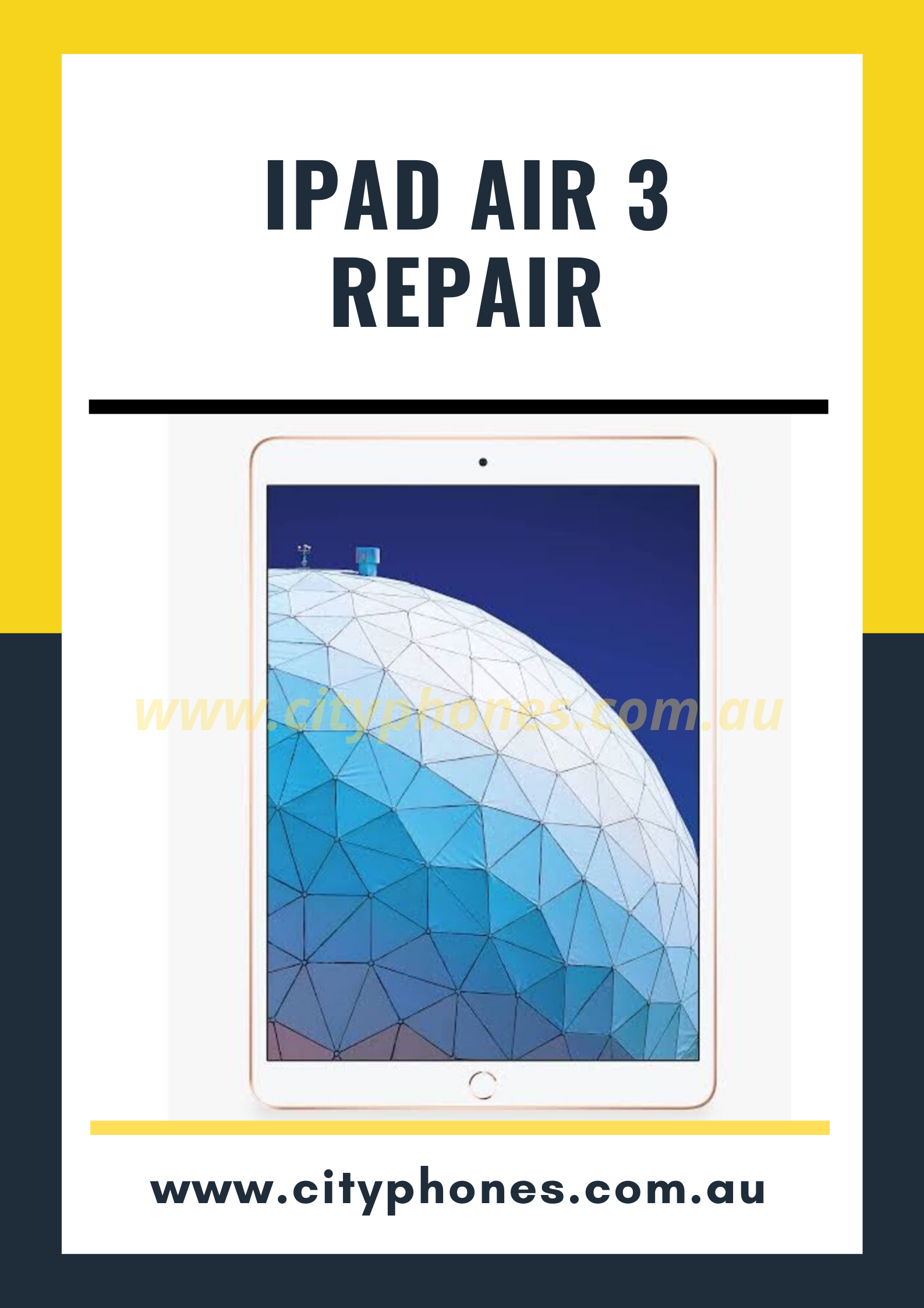 iPad air 3 screen repair