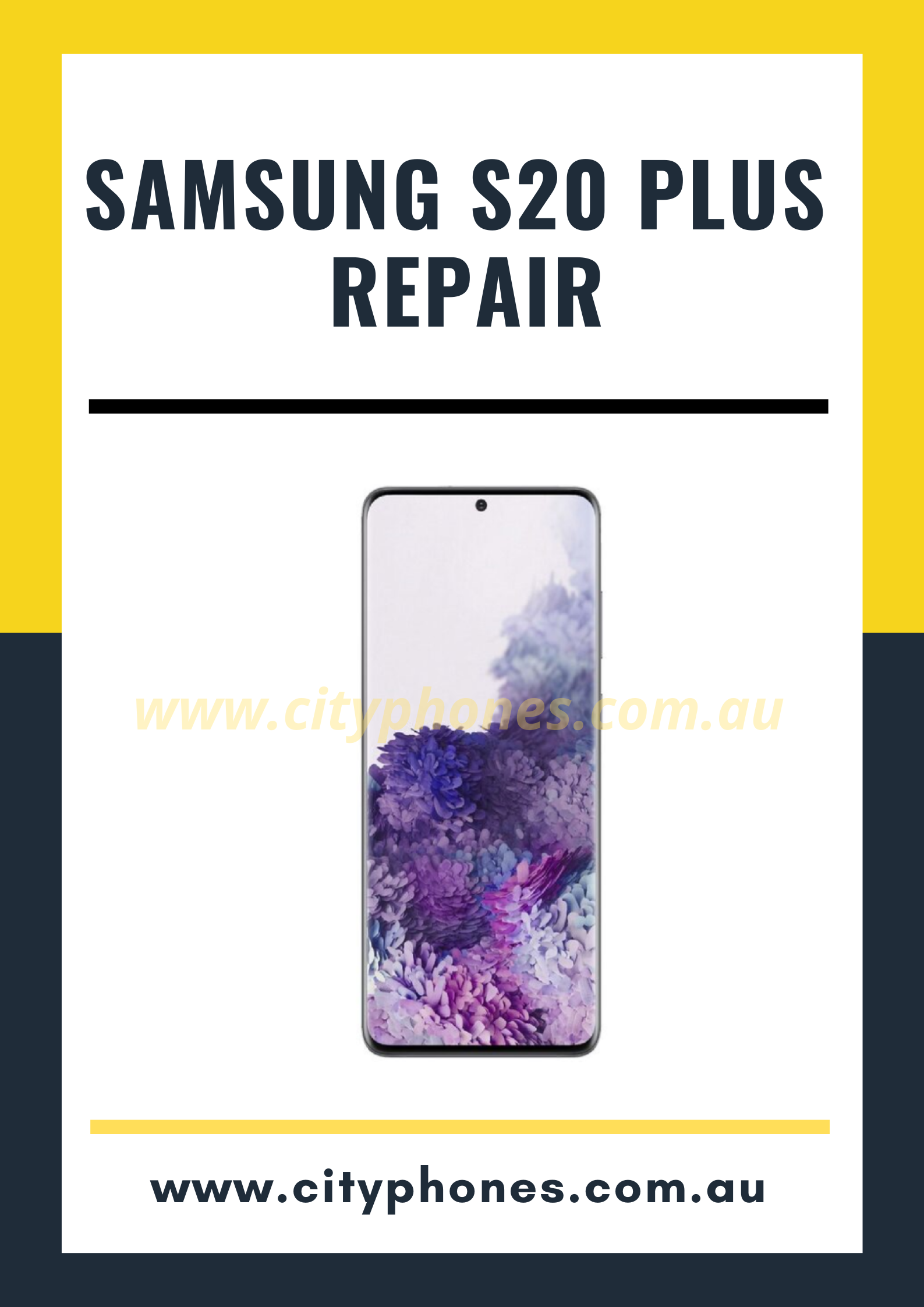Samsung s20 plus screen repair