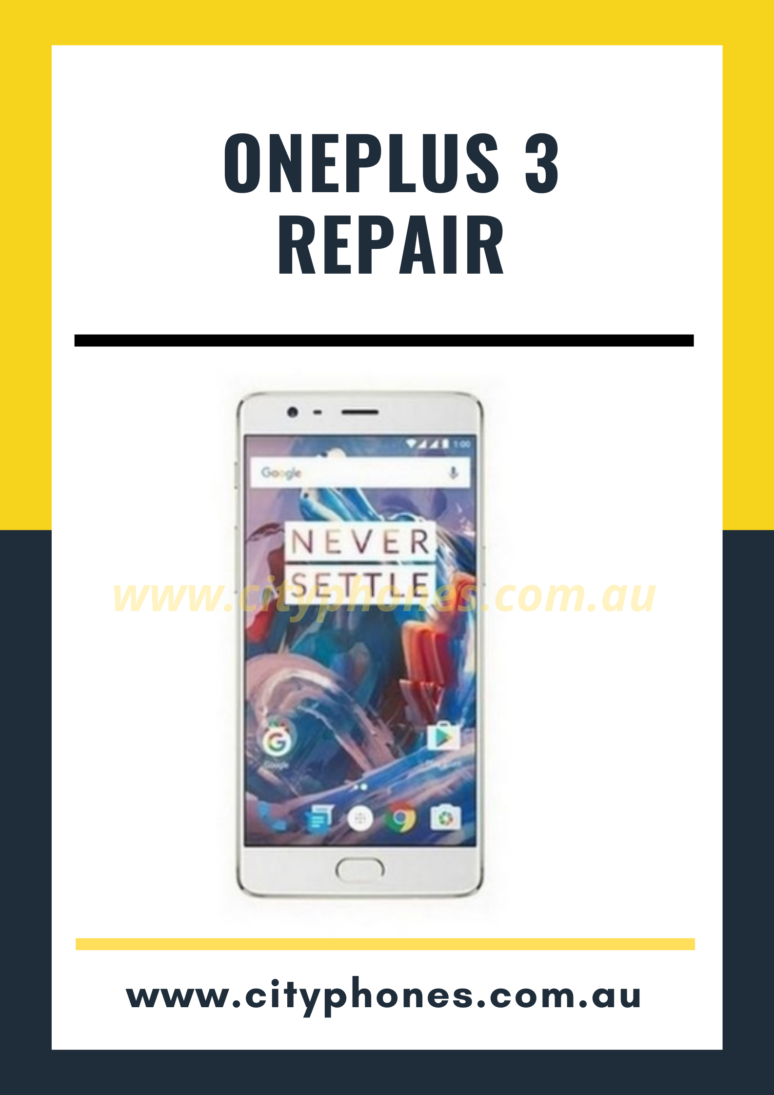 oneplus 3 screen repair