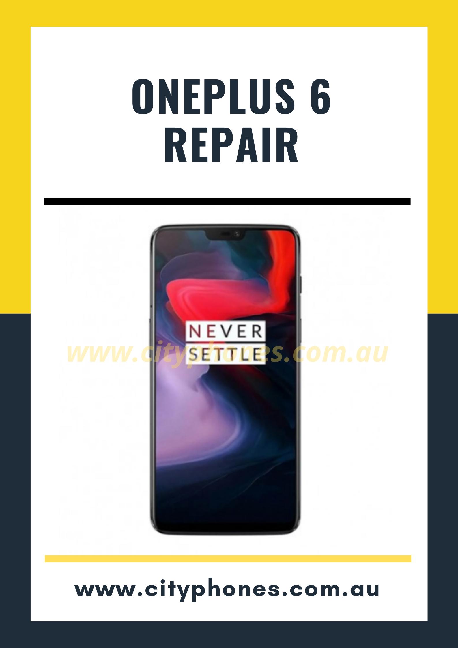 oneplus 6 screen repair