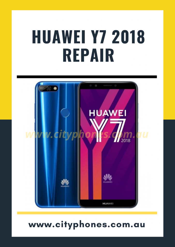 huawei y7 2018 screen repair
