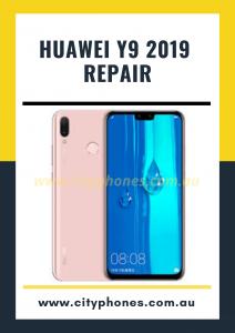 Huawei y9 2019 screen repair