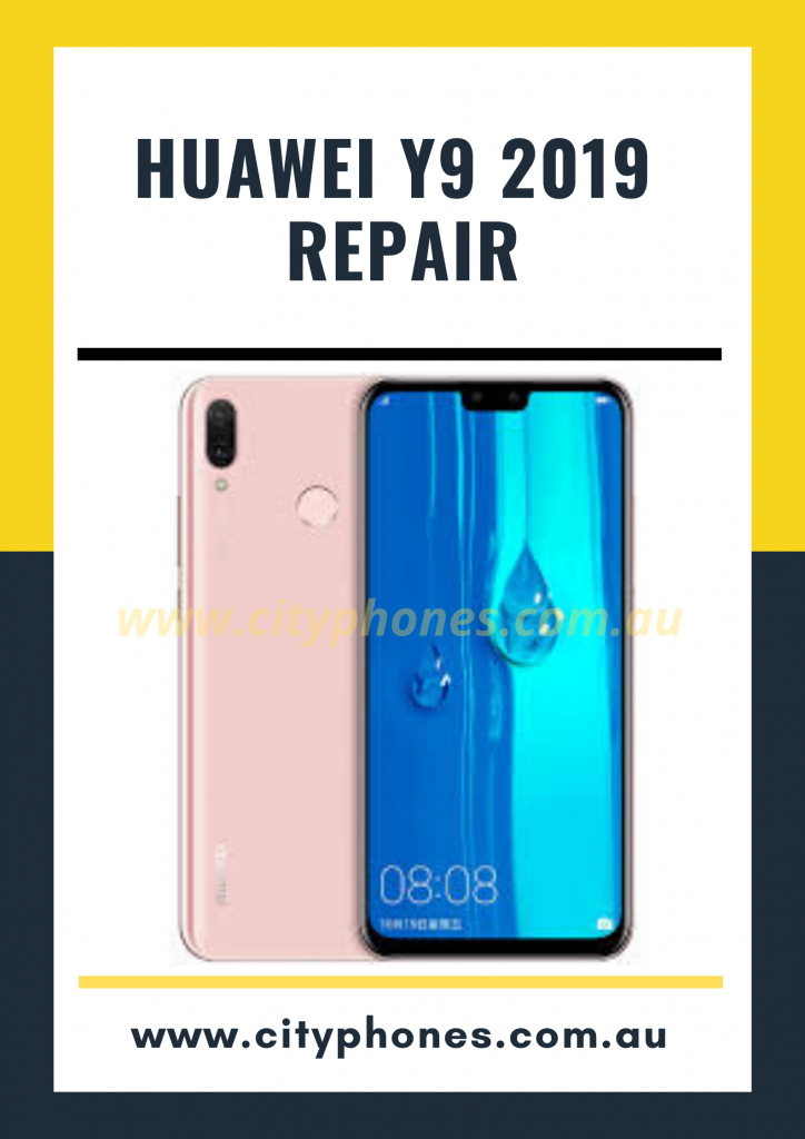 Huawei y9 2019 screen repair