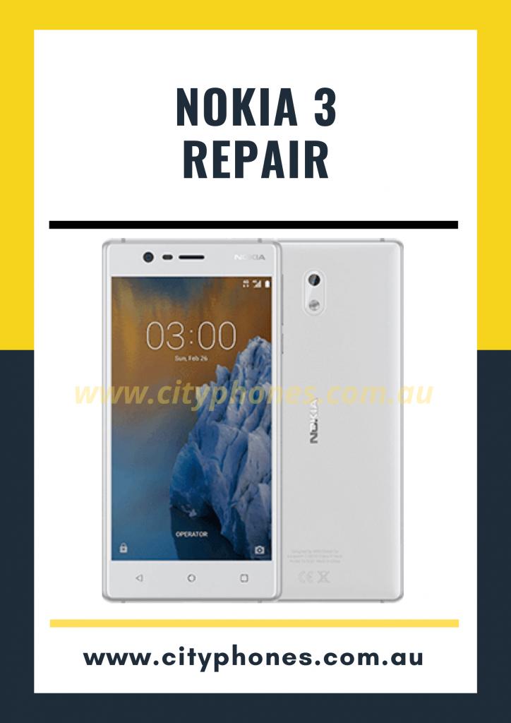 Nokia 3 screen Repair
