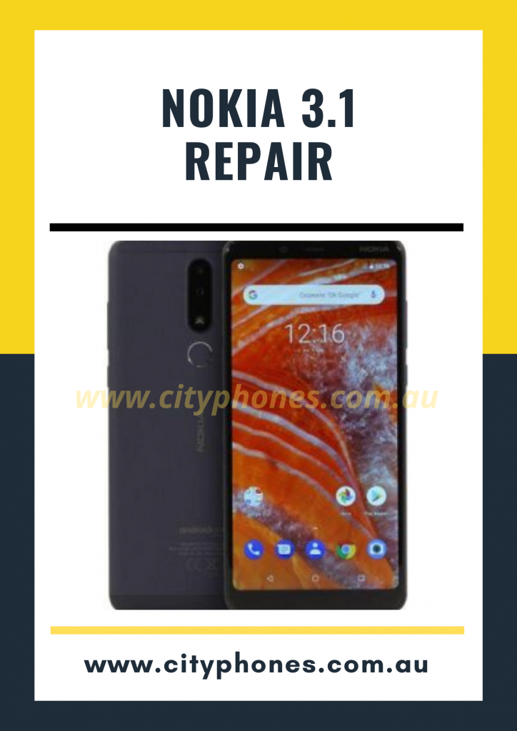 Nokia 3.1 screen Repair