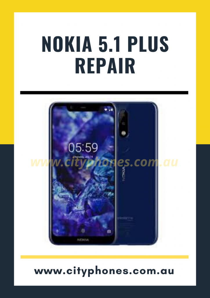 Nokia 5.1 Plus screen Repair