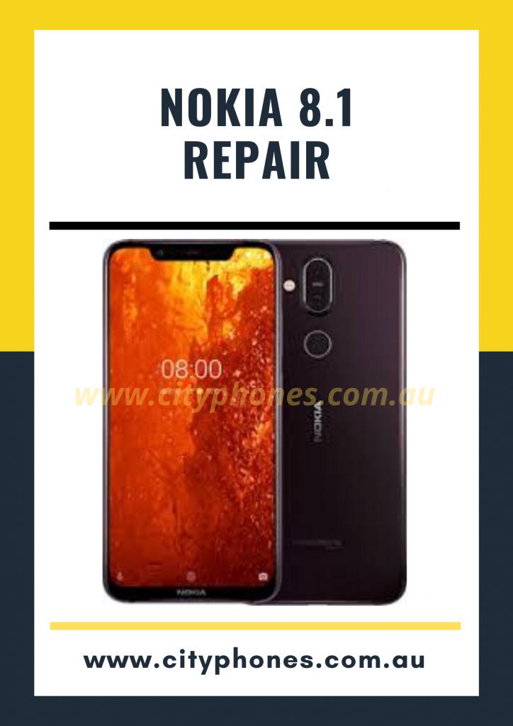 Nokia 8.1 screen repair