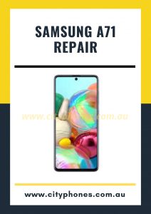 Samsung a71 screen repair