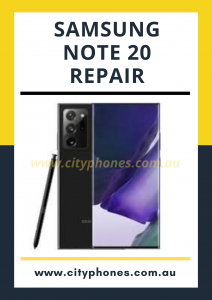 Samsung note 20 screen repair
