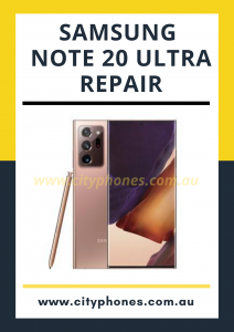 Samsung note 20 ultra screen repair