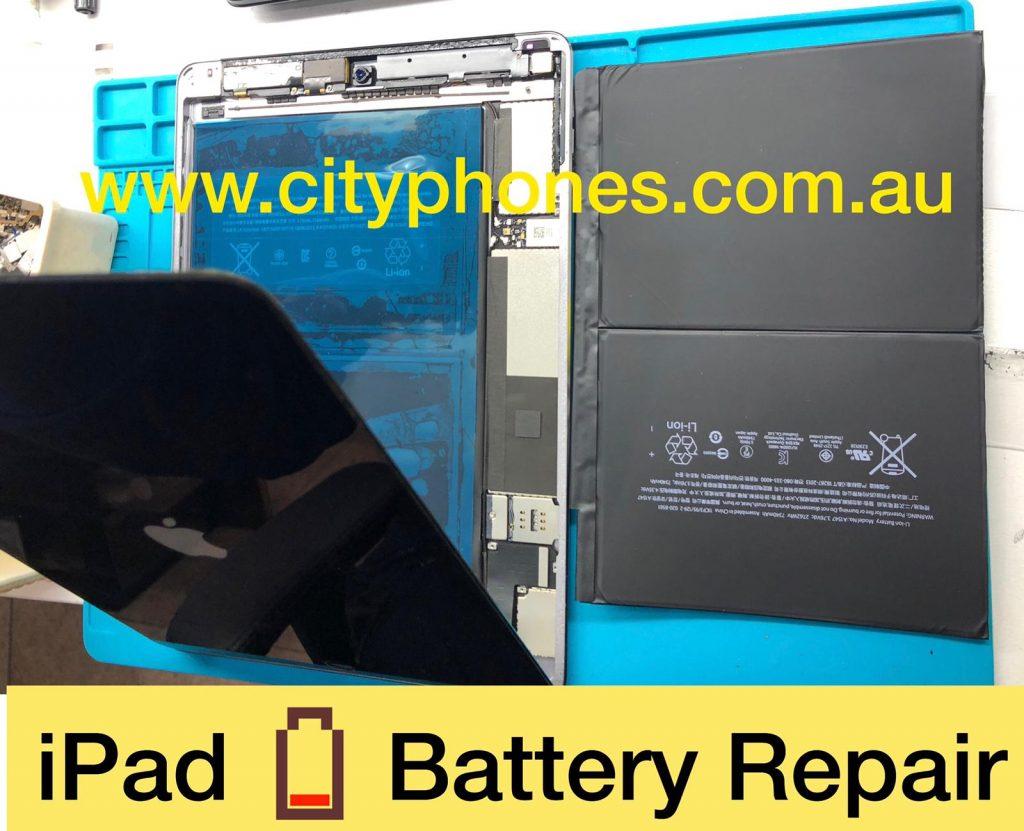 iPad battery repair in melbourne