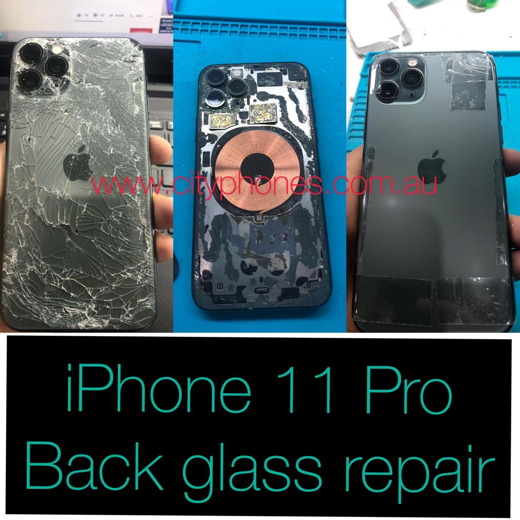 iPhone 11 pro back glass repair in melbourne
