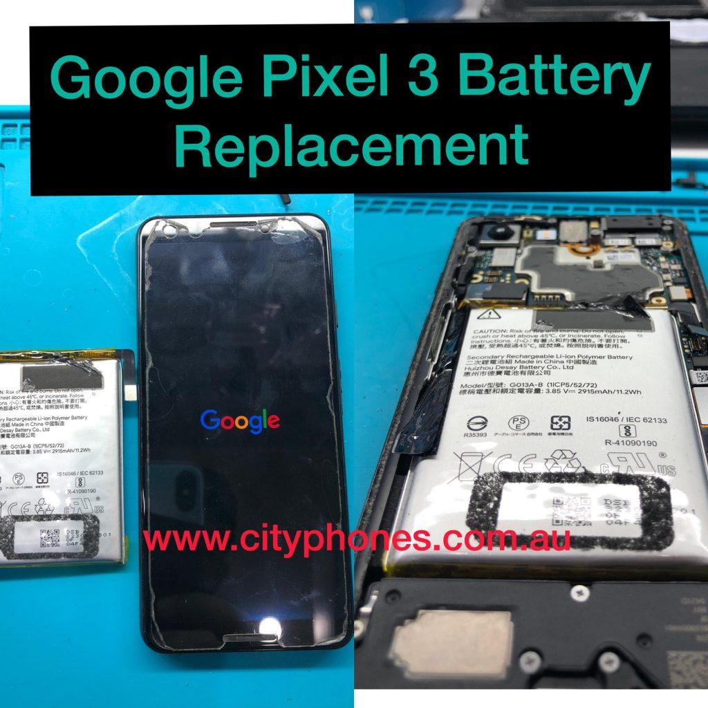 Google pixel battery repair