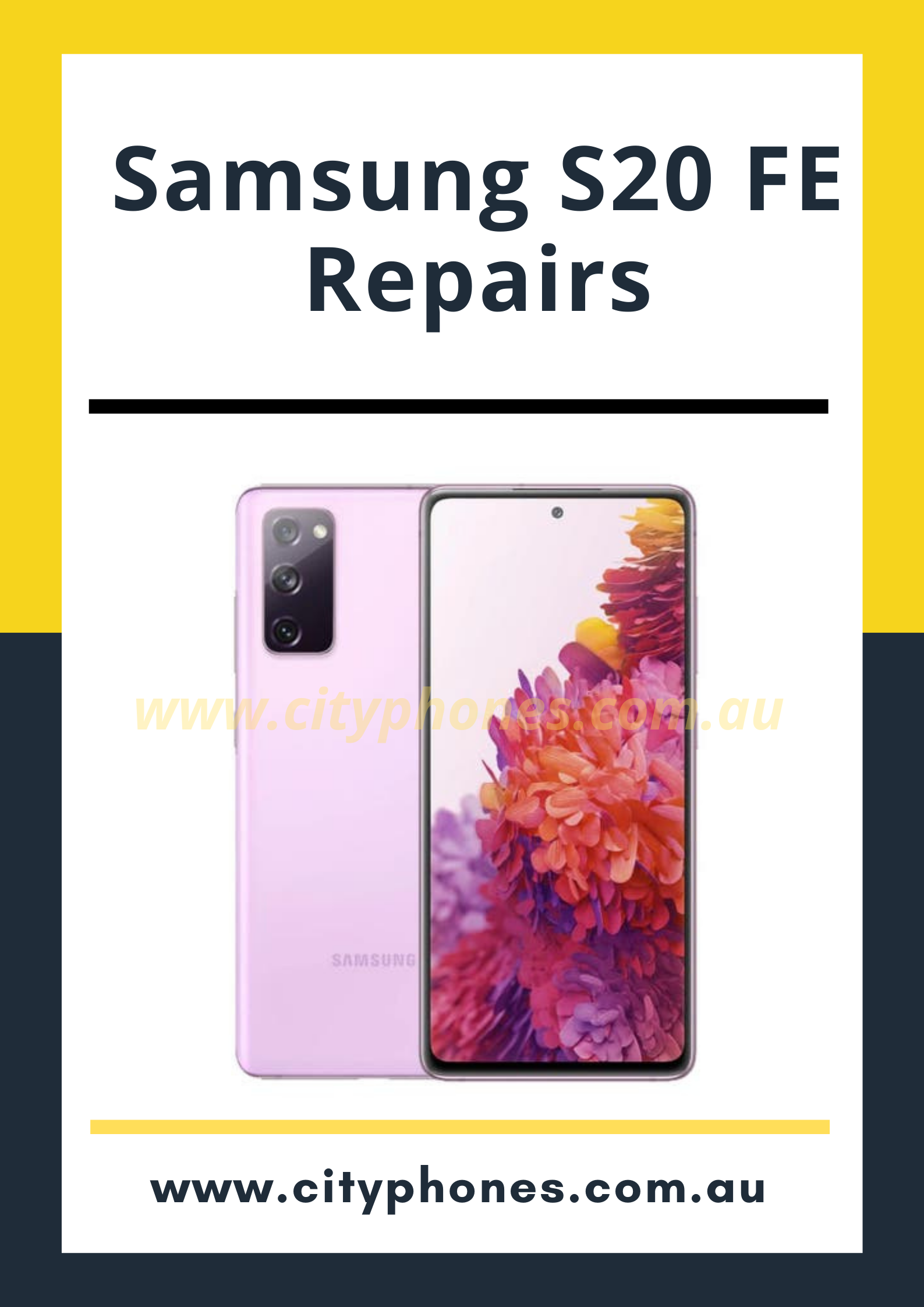 Samsung s20 fe screen repair