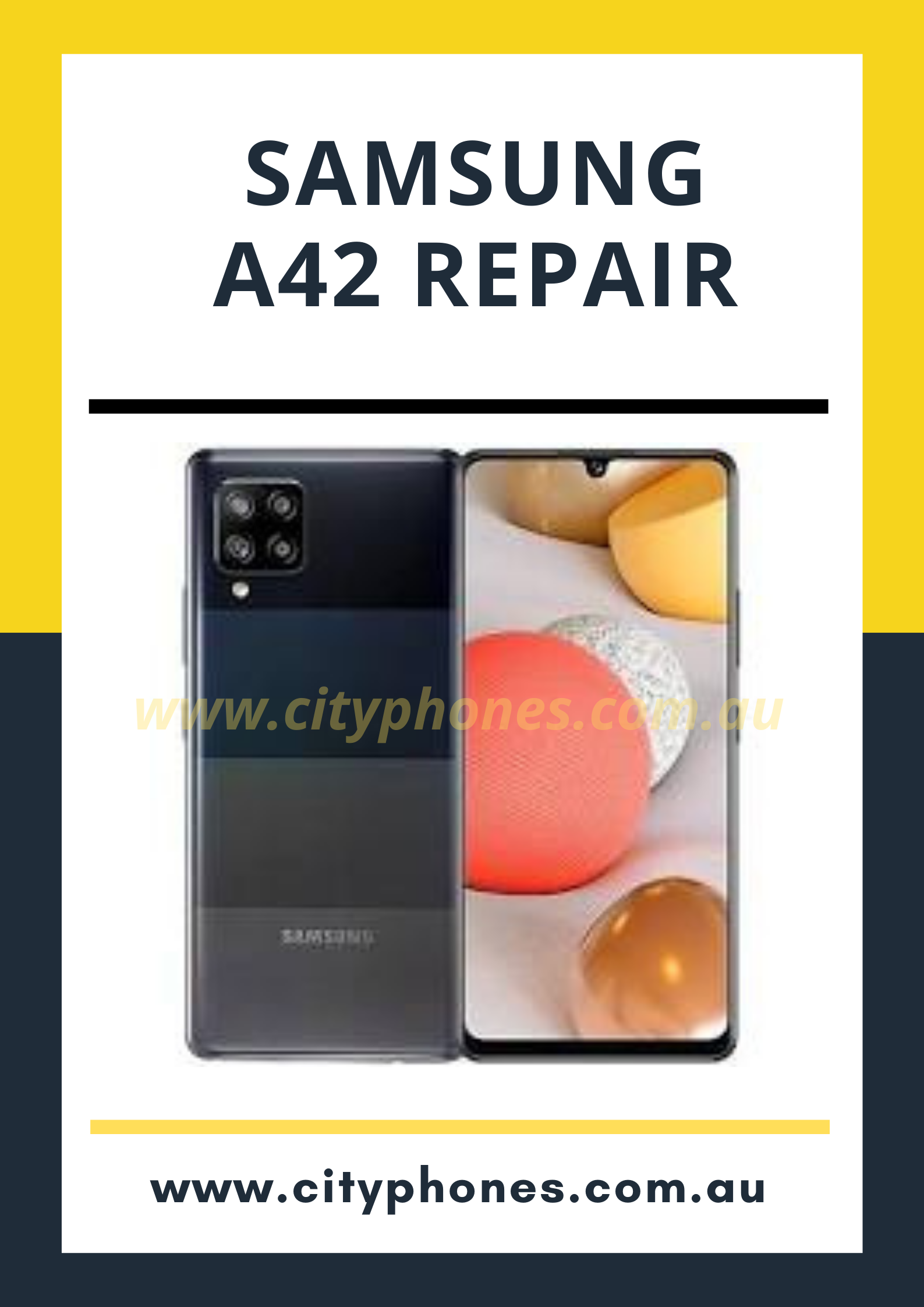 Samsung a42 screen repair