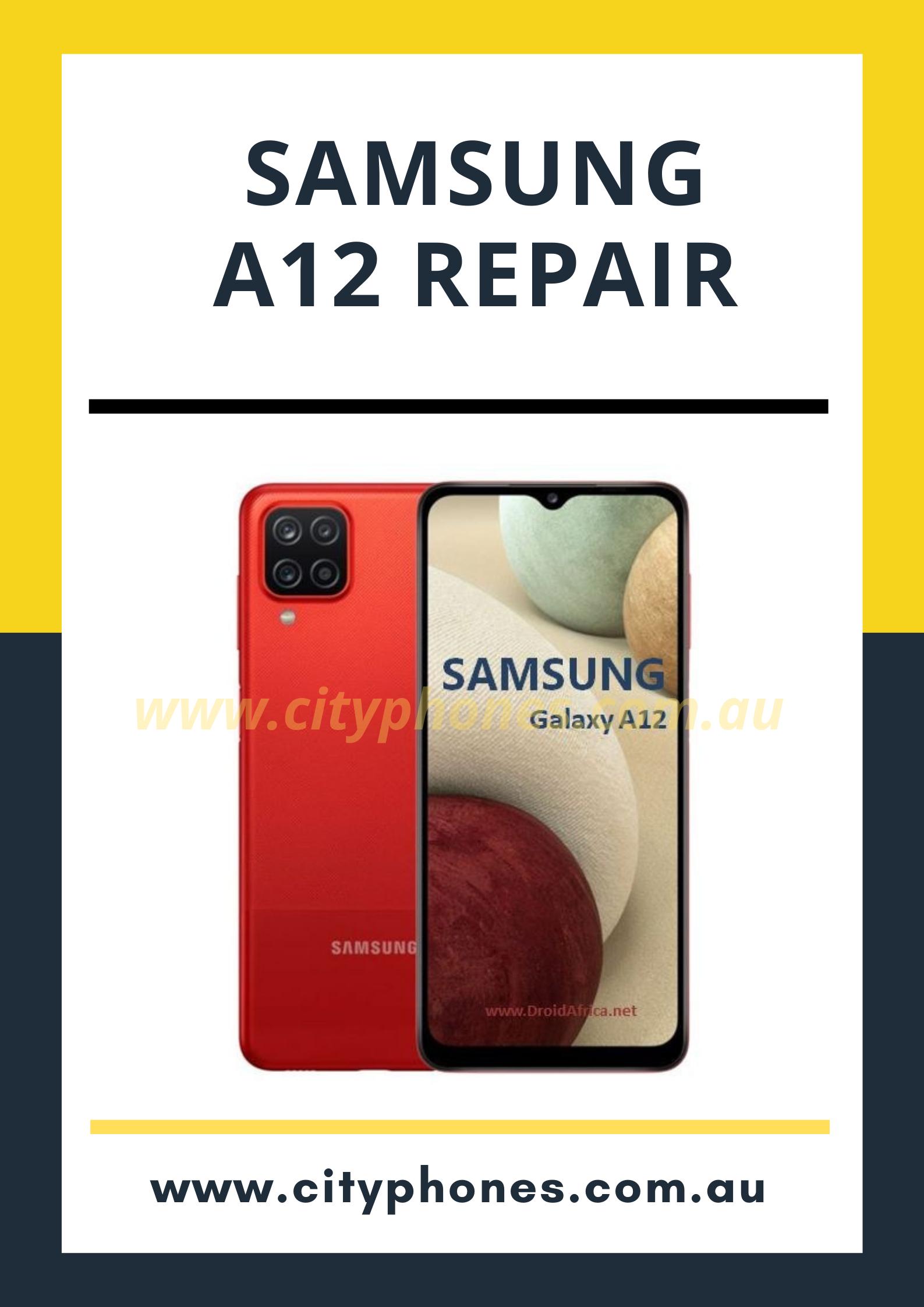 samsung a12 repair