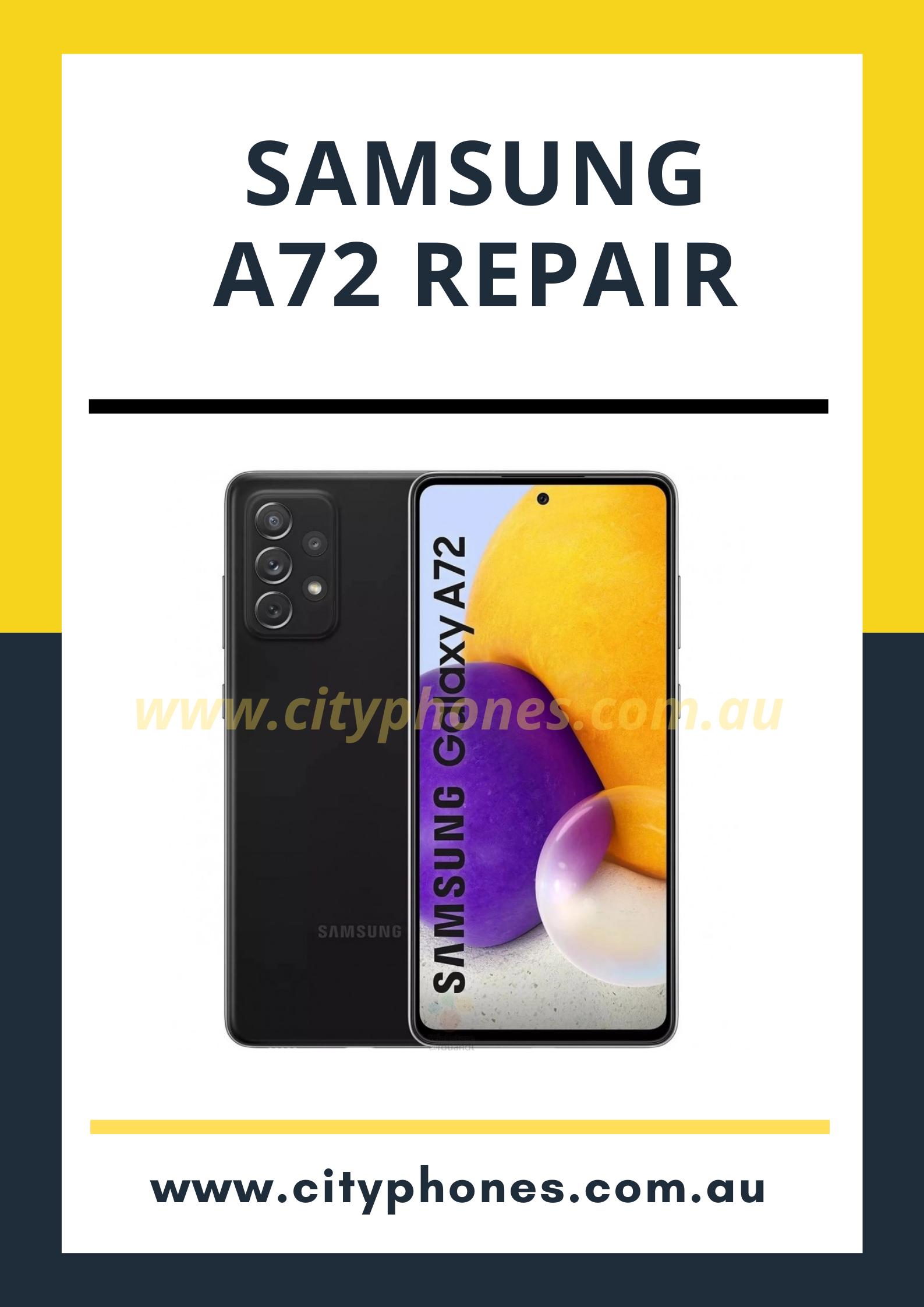 Samsung A72 repair cost