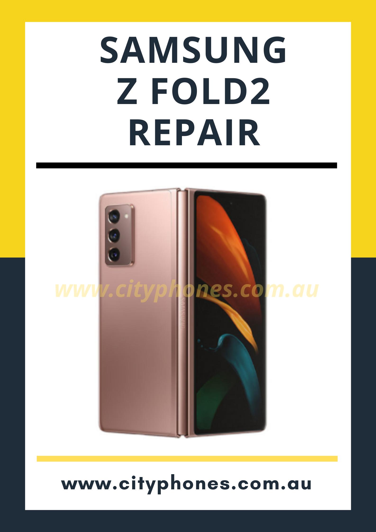 Samsung z fold 2 screen repair in melbourne