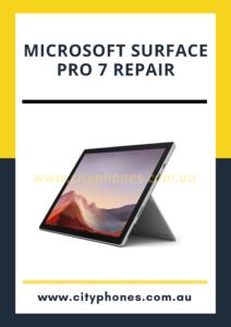 microsoft surface pro 7 screen repair in melbourne
