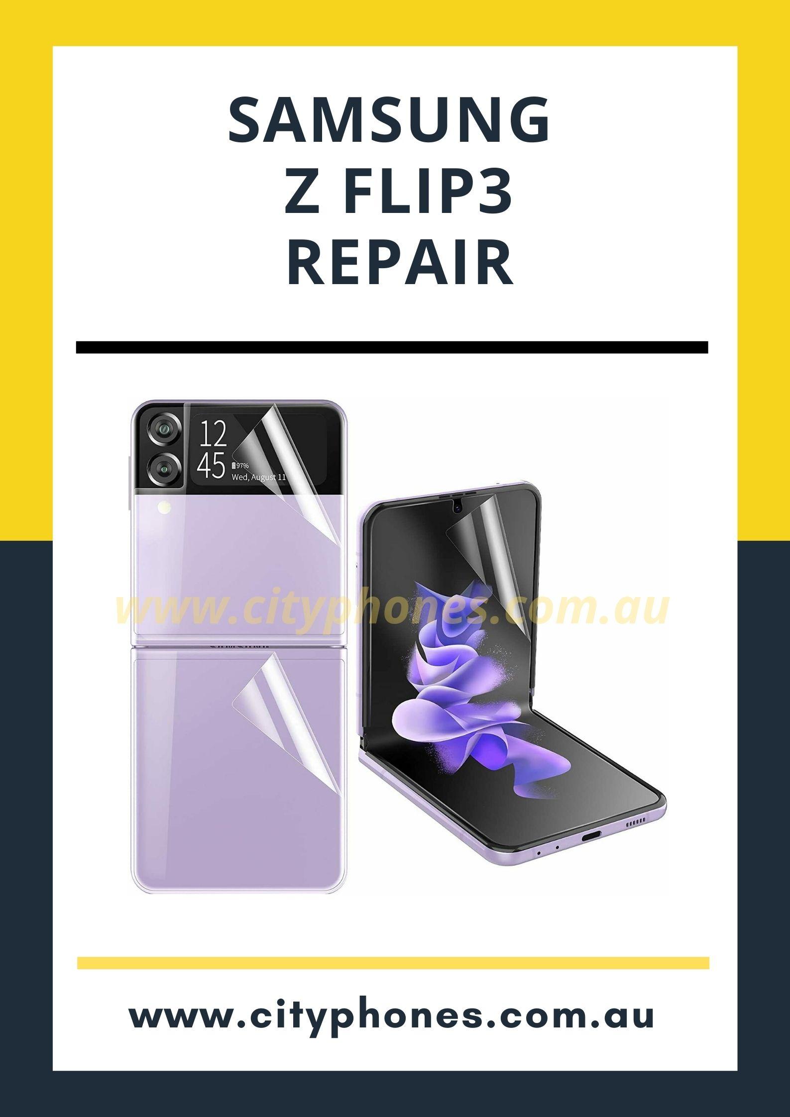samsung z flip3 repair